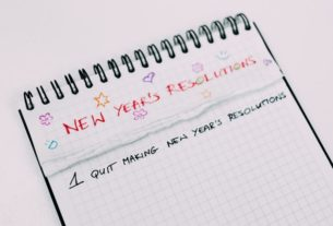 New Year's Resolutions? do not be therefore exhausting On Yourself