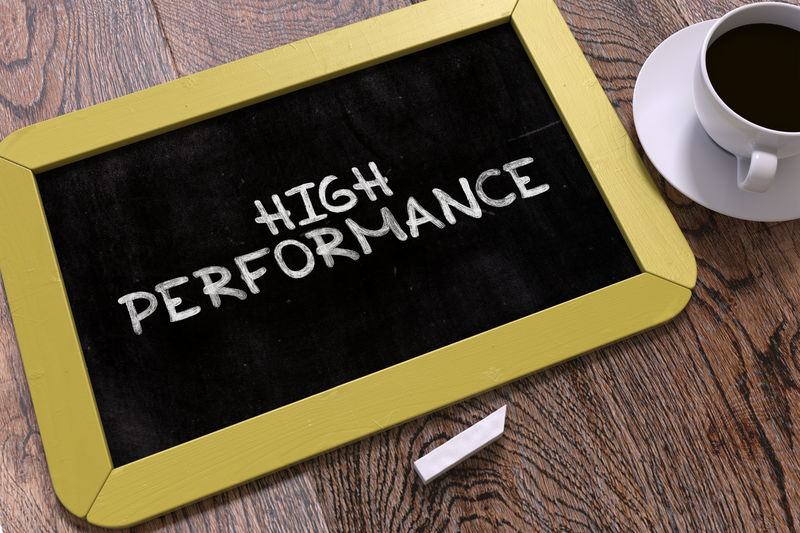 High Performance to build confidence